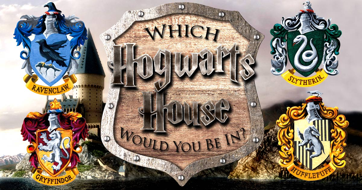 Harry Potter House Quiz- Let The Sorting Hat Place You In The Right House